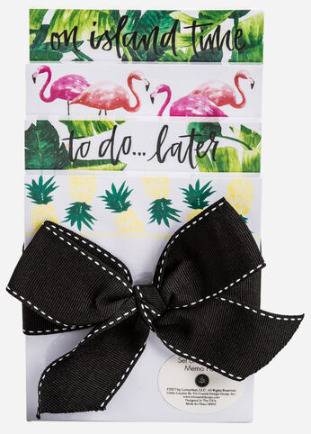 Tropical Set of Notepads