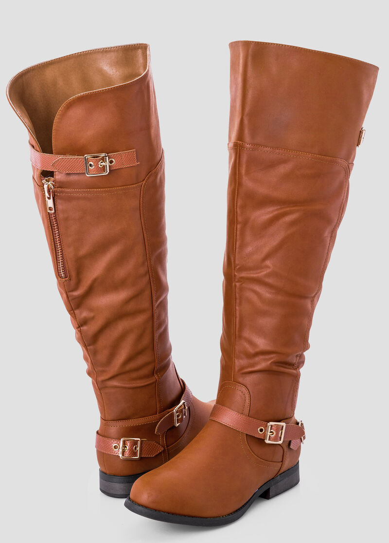 Wide Width Wide Calf Over The Knee Tall Boot-Wide Width Women's ...