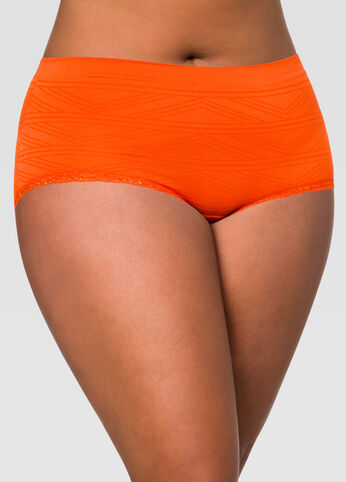 Seamless Geo Hipster Panty