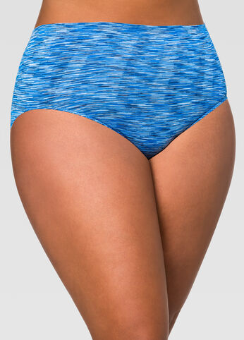 Seamless Space Dye Brief Panty