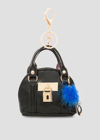 Ashley Stewart Handbag Charm in Black