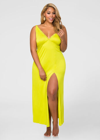 Strappy Maxi Night Gown