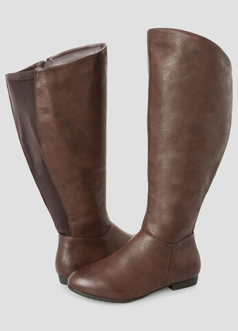 Basic Tall Boot - Extra Wide Calf
