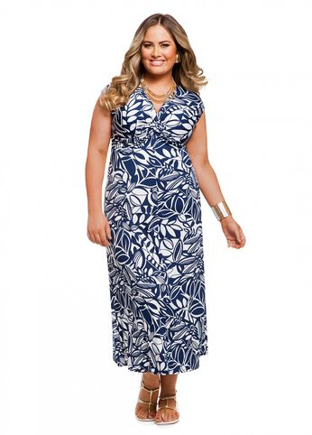 Web Exclusive: Twisted Knot Maxi Dress
