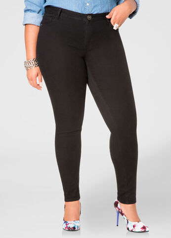 Buy Skinny Jeans Bottoms - Ashley Stewart