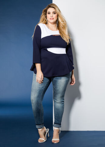 Too Cute To Be Stressed Plus Size Outfit