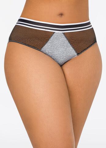 Sporty Mesh Bikini Panty