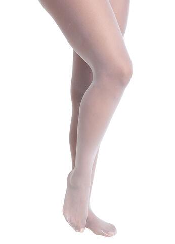 4x white pantyhose