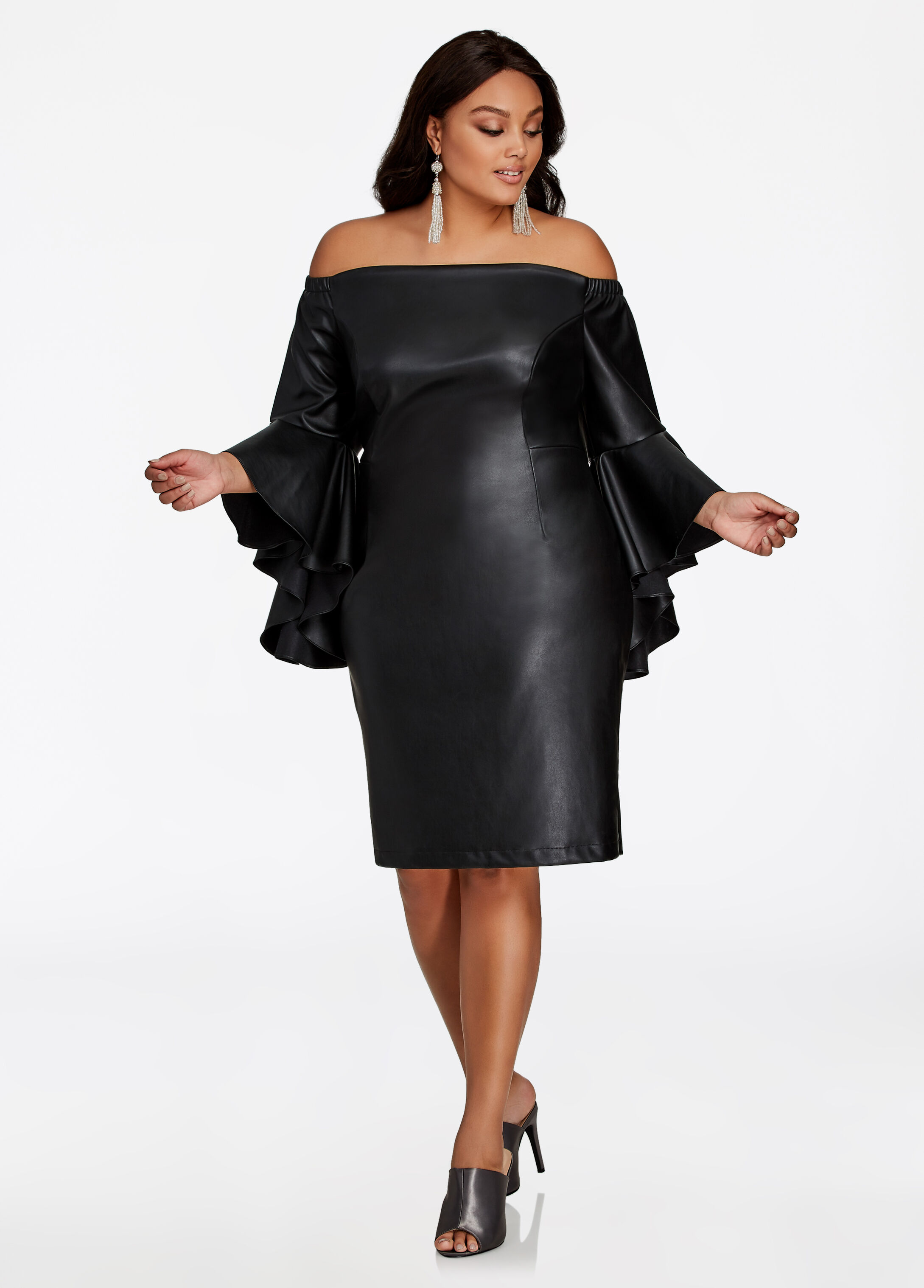 Leather dresses have been a favorite among celebs and style divas since time immemorial, as they add a dash of oomph, femininity, class and elan. In fact, designer leather dresses especially halter necks, tube necklines, laced, sweetheart neckline and many more have been a rage among the fashion conscious girls the world over.