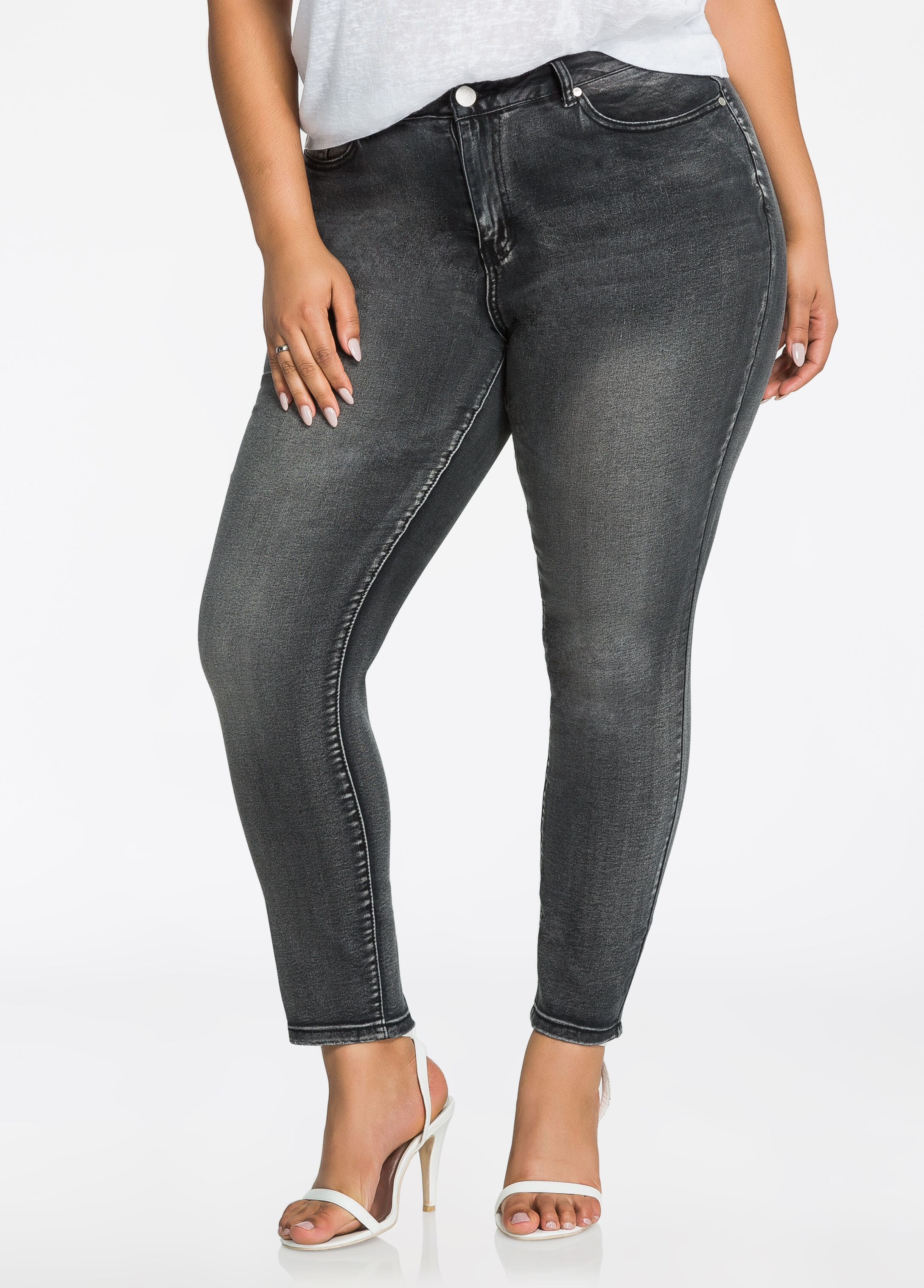 Sky High Ankle Jean