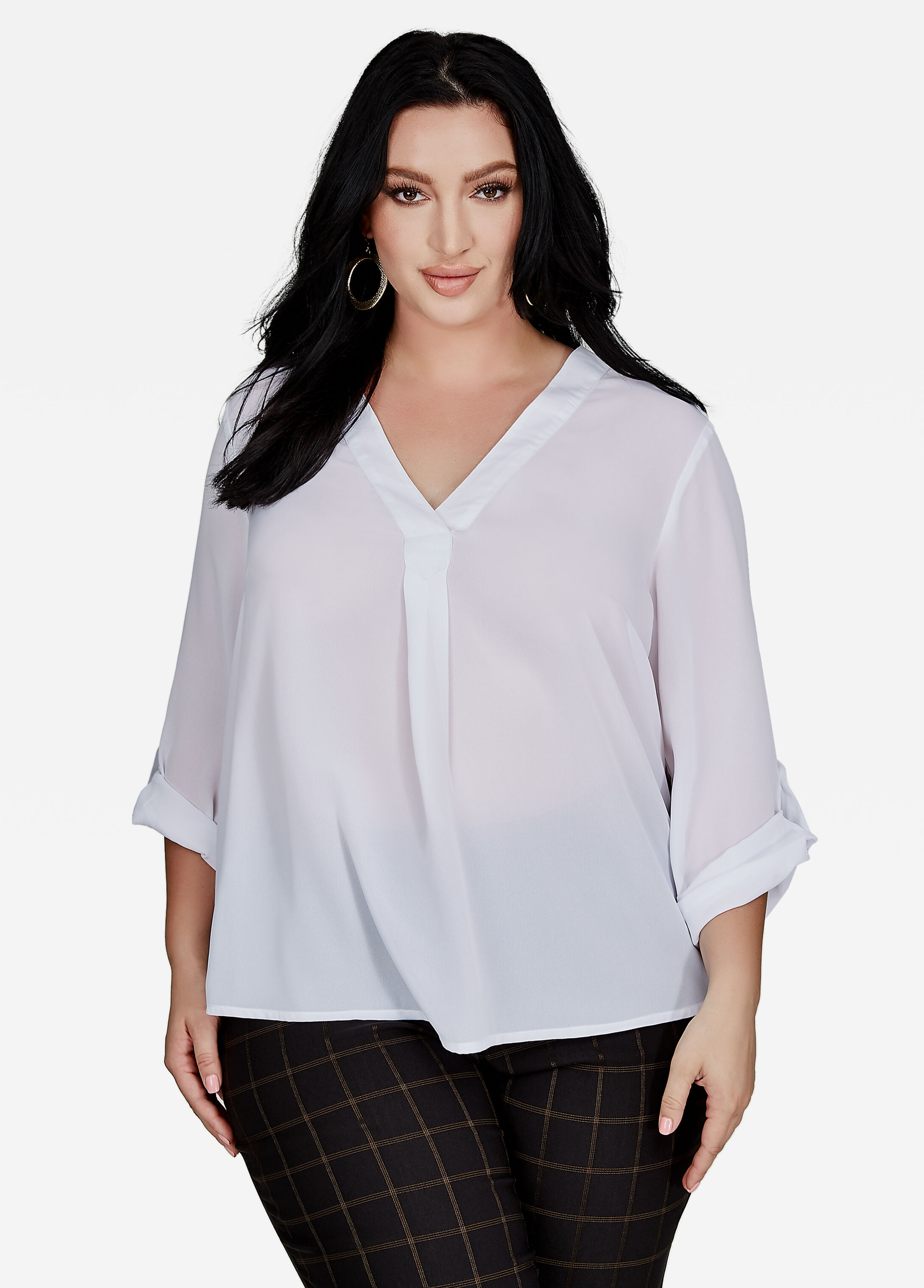 Find great deals on eBay for v neck blouse. Shop with confidence.