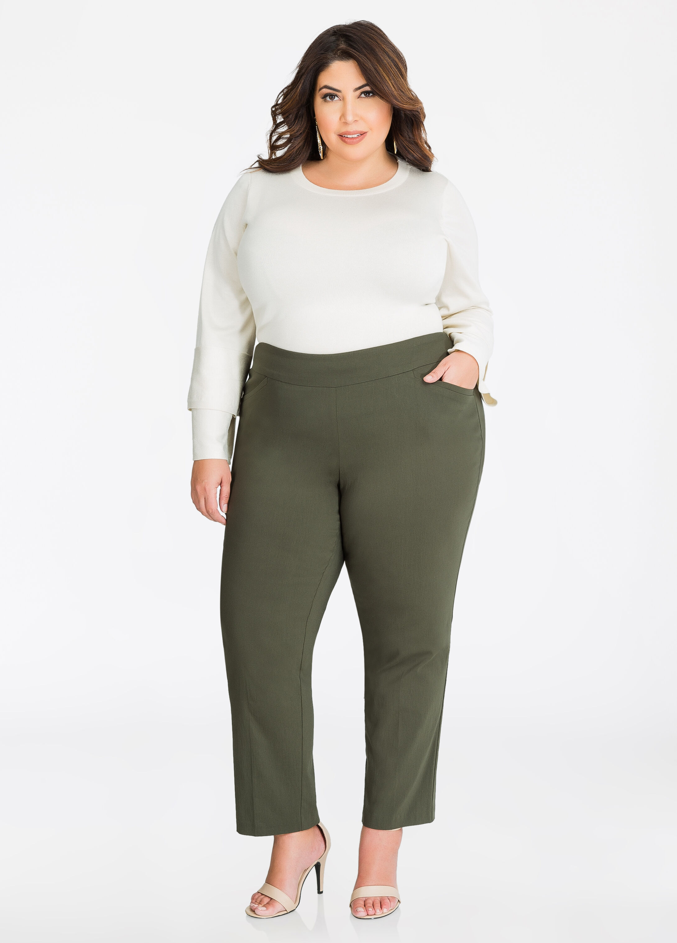 Fit Solution Super Stretch Ankle Pant