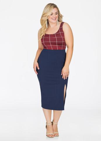 232ecdea862c0 Buy Soft Stretch Fabric Skirts - Ashley Stewart