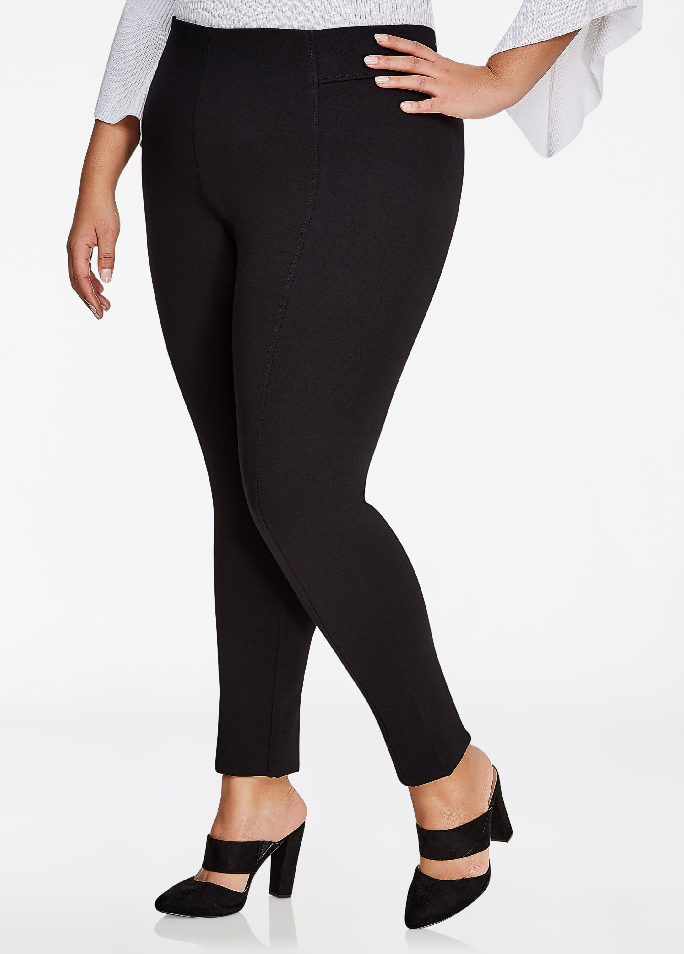 High Waisted Ponte Legging