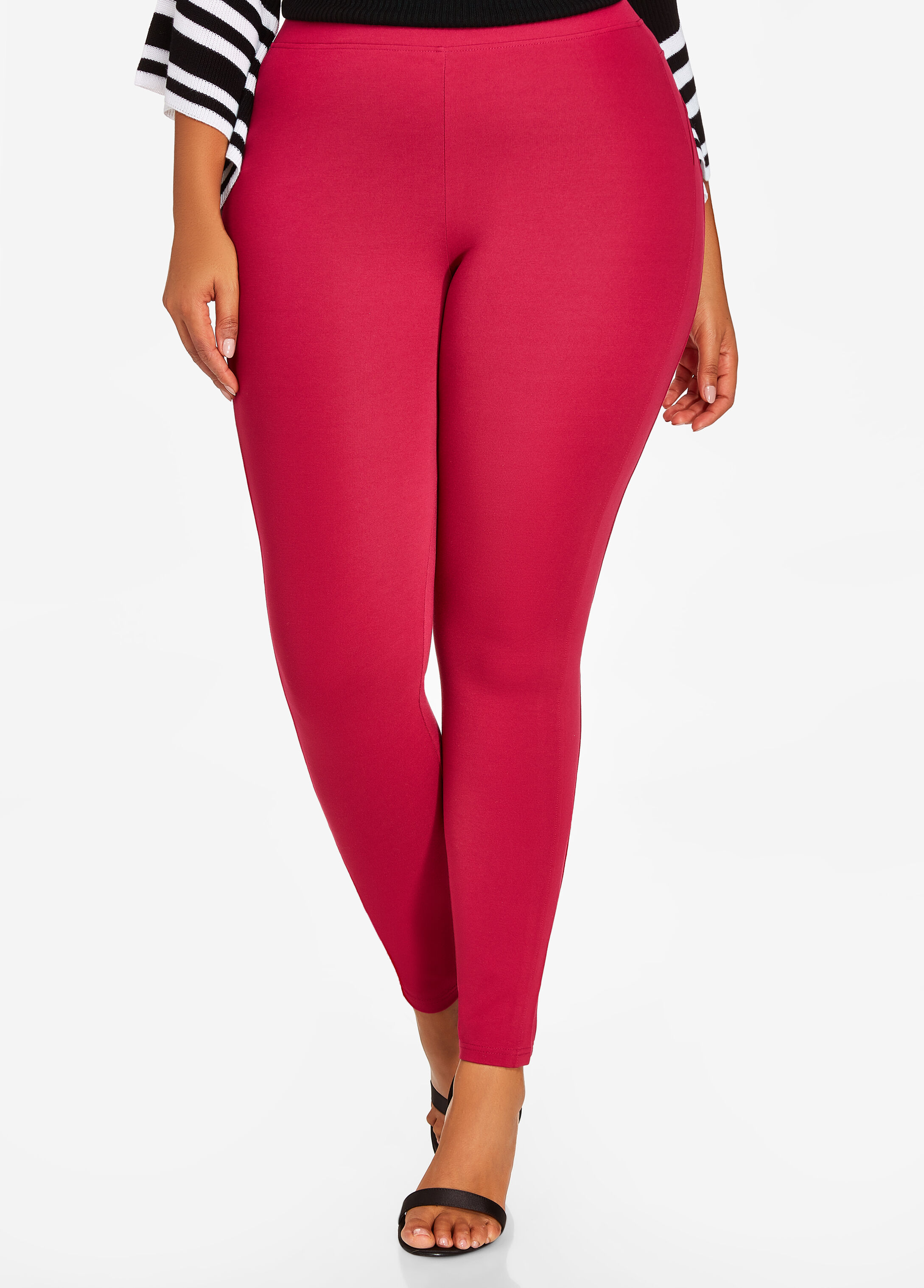 Basic Pull On Ponte Legging