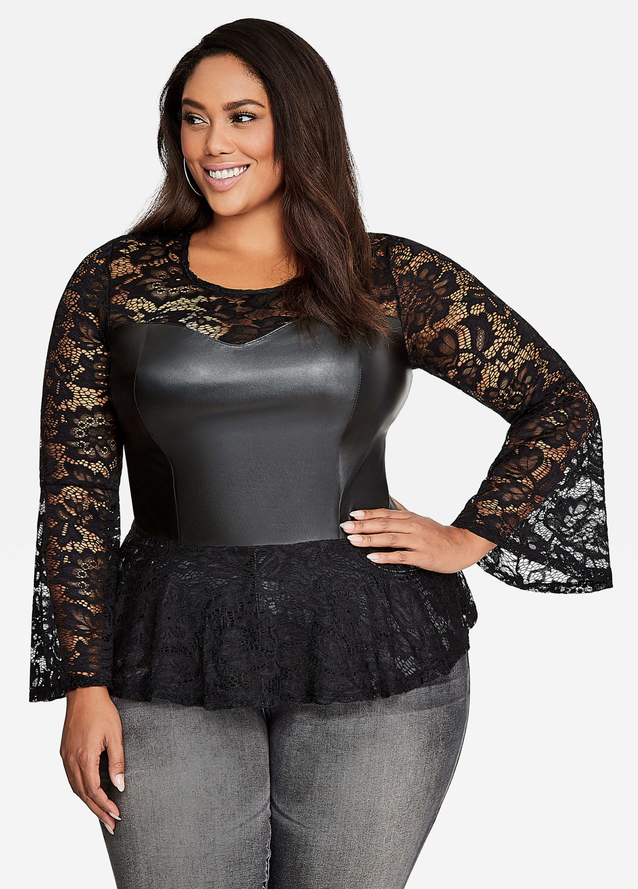 plus size tops for women | sizes 12 - 36 | ashley stewart