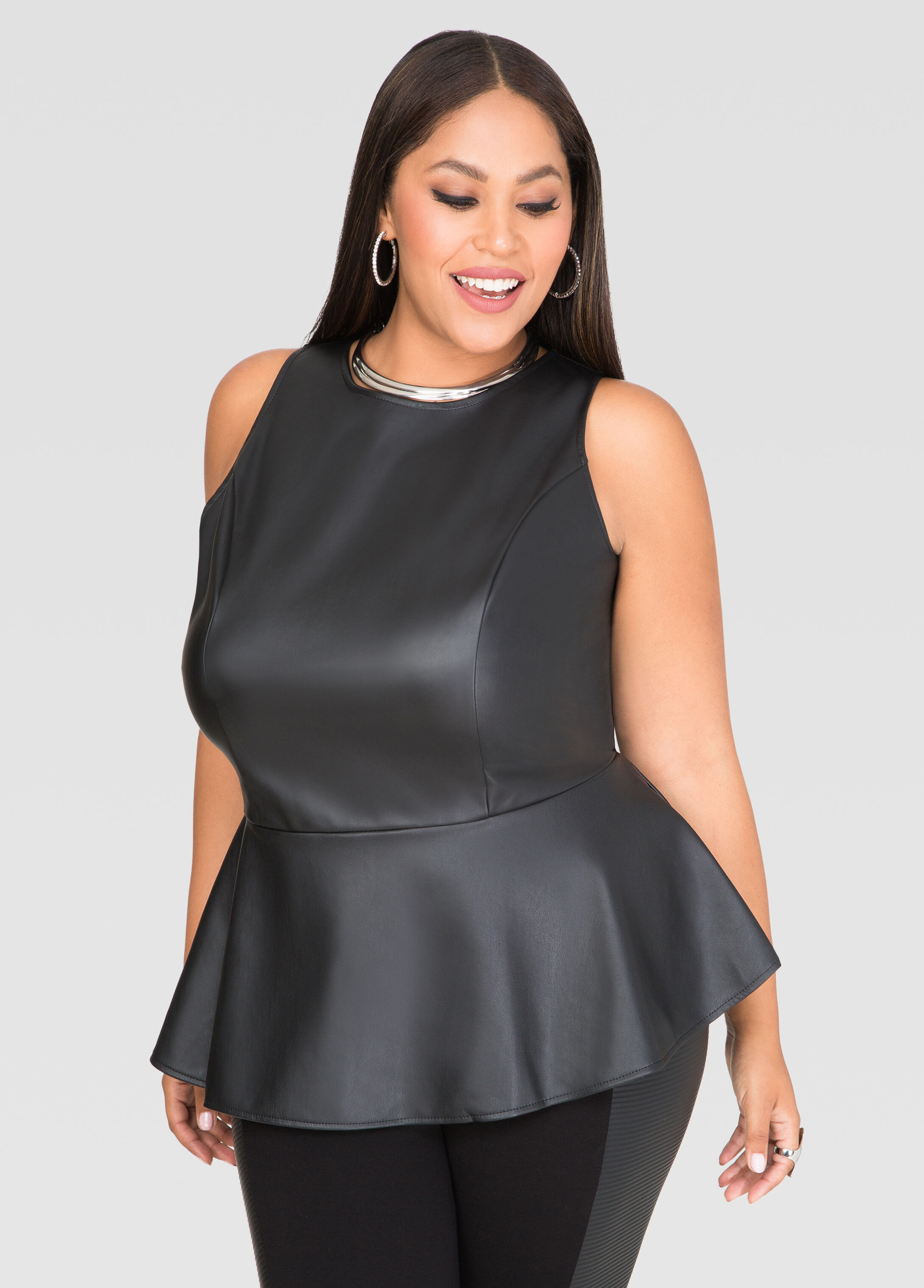 Only $,buy Plus Size Lace Yoke PU Leather Peplum Top at GearBest Store with free shipping. Only $,buy Plus Size Lace Yoke PU Leather Peplum Top at GearBest Store with free shipping. Save BIG with our app! Download our Cool FREE App! Enjoy App-EXCLUSIVE Deals. Ship to Language Support Center.