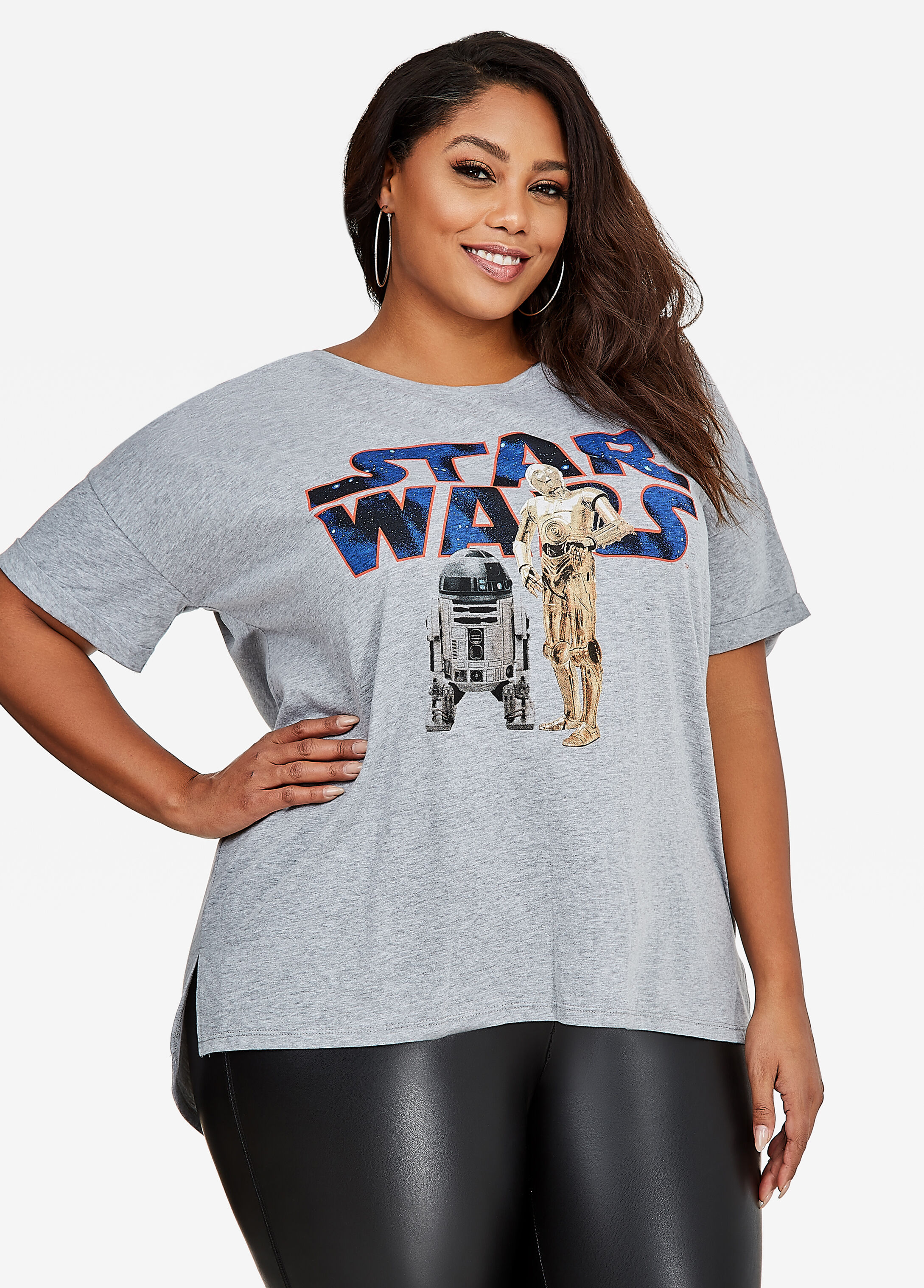 Star Wars Tee With Back Lace-Up
