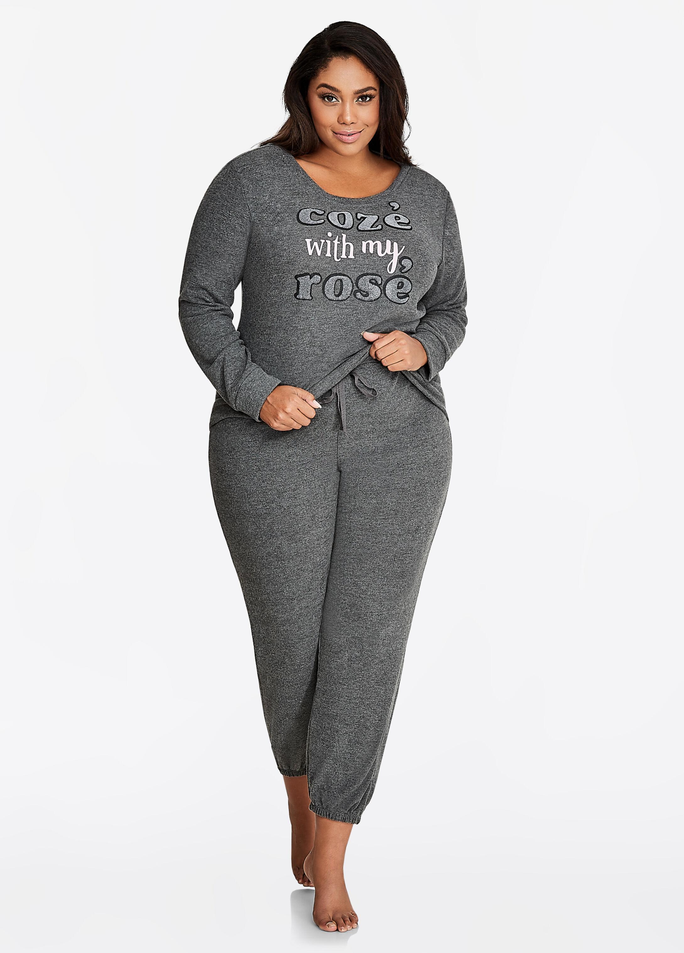 Sweatshirt and Pant Pajama Set