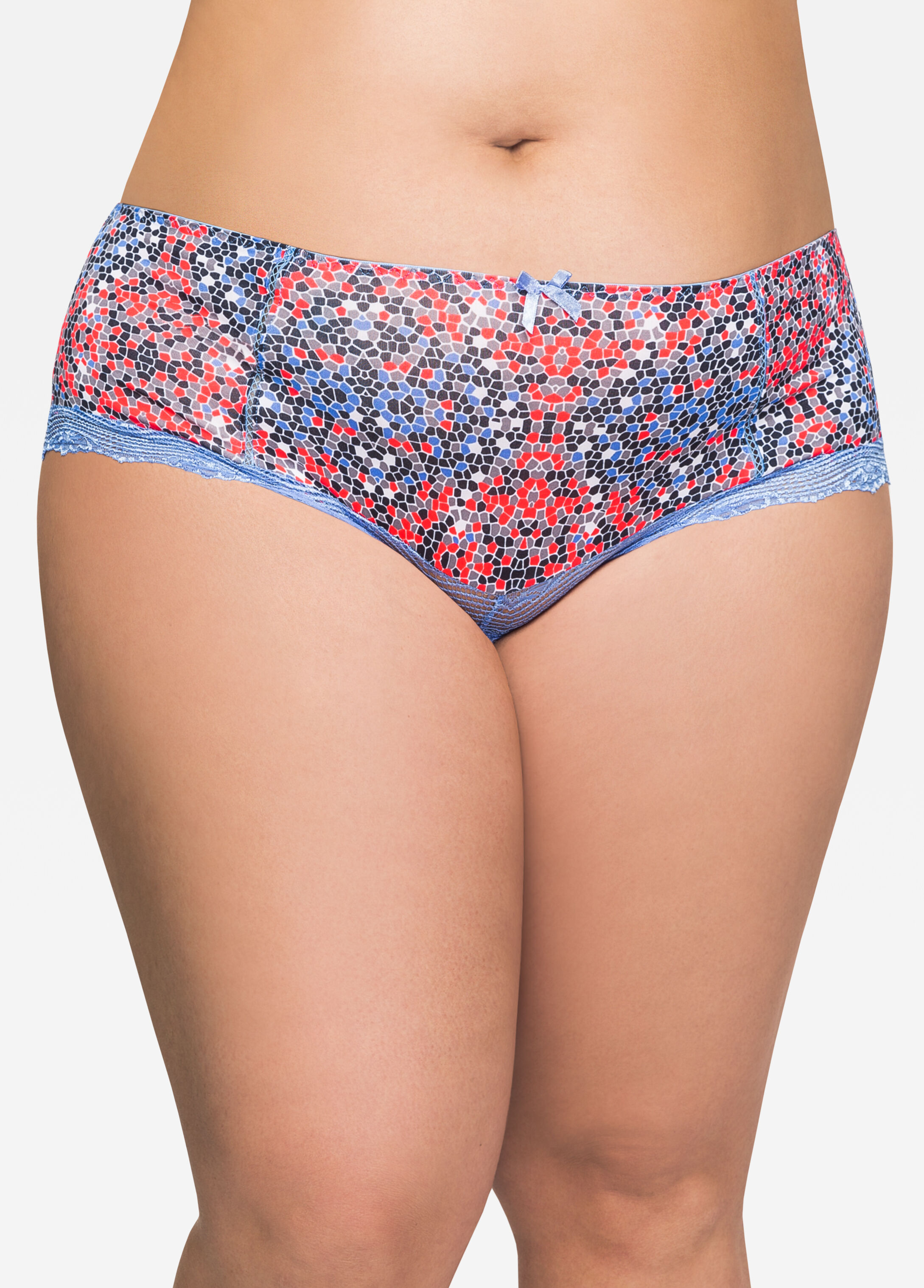 Micro Panty with Lace Leg Detail
