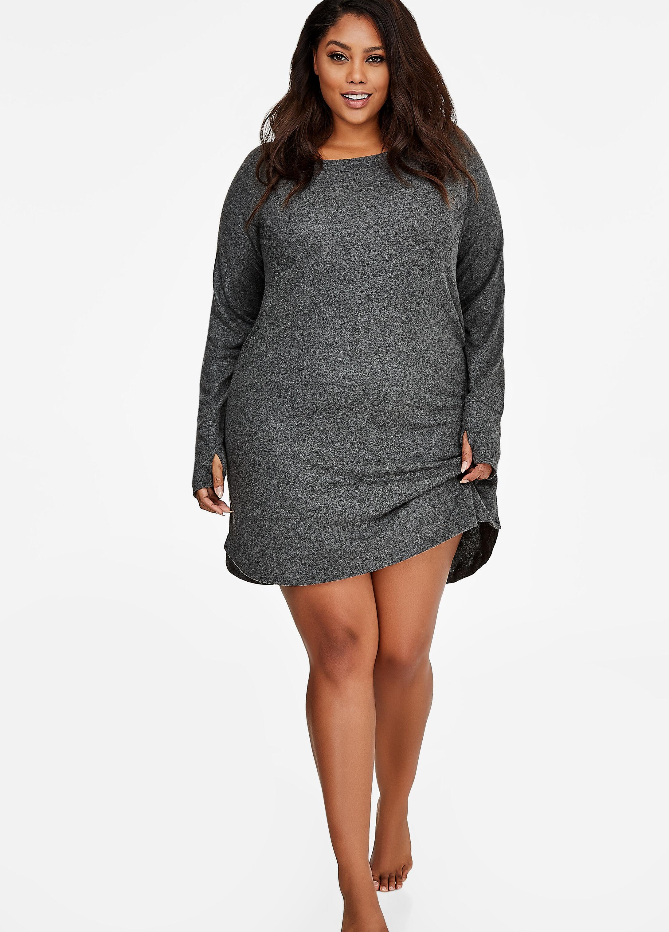Pullover Over-Sized Sleep Shirt