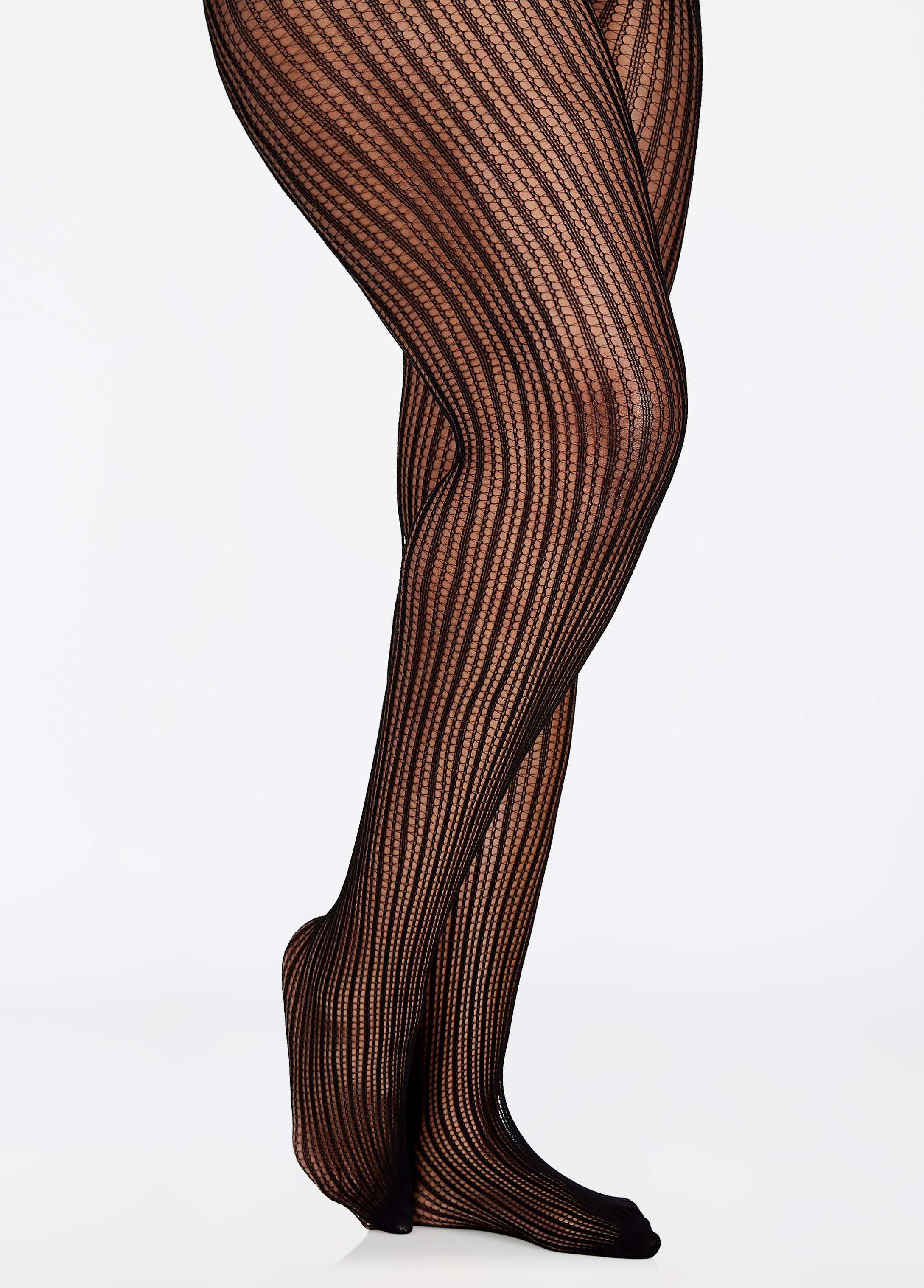 Mini Line Fishnet Tights