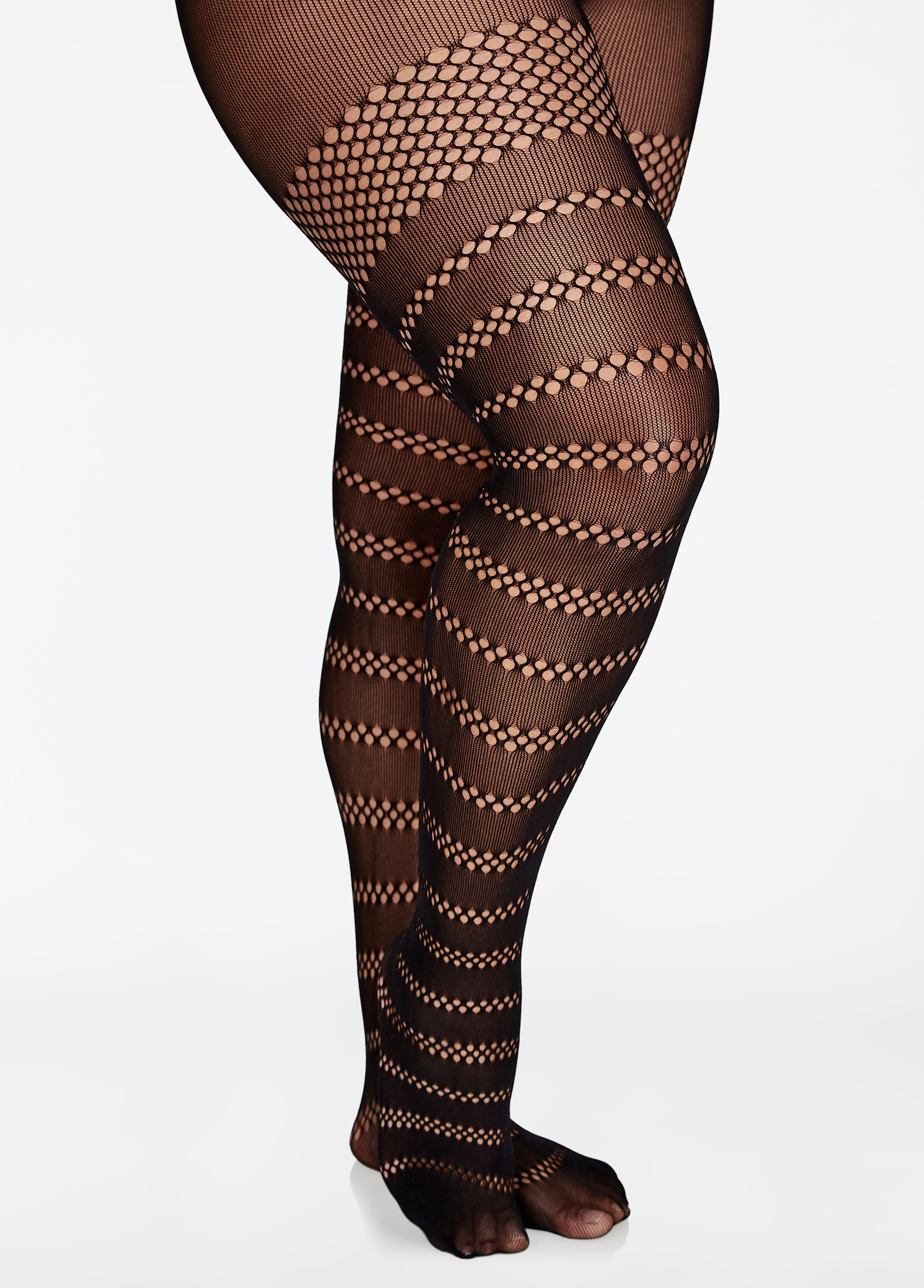 All Around Open Net Tights