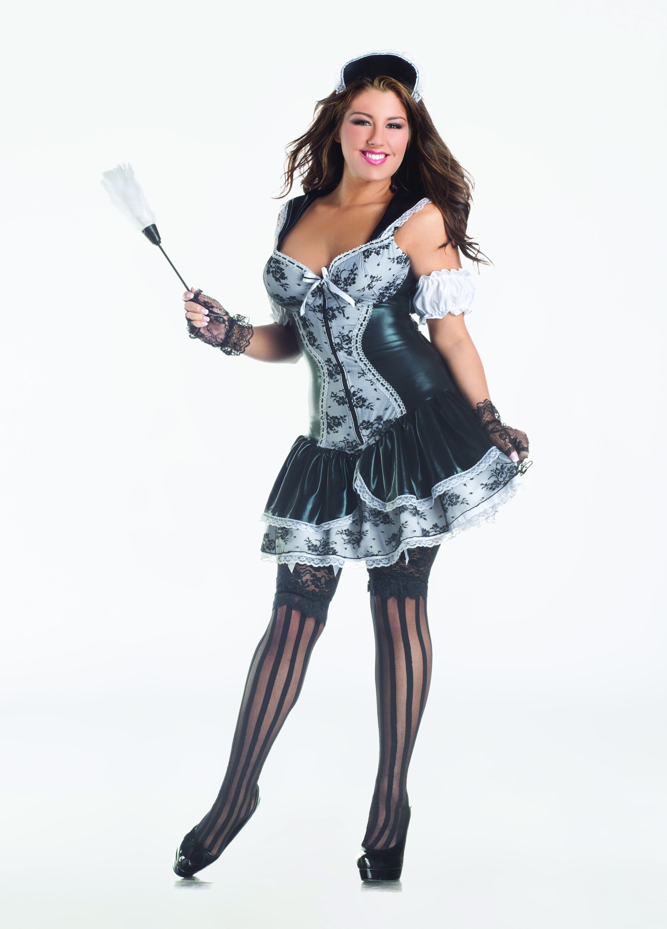 French Maid with Body Shaper