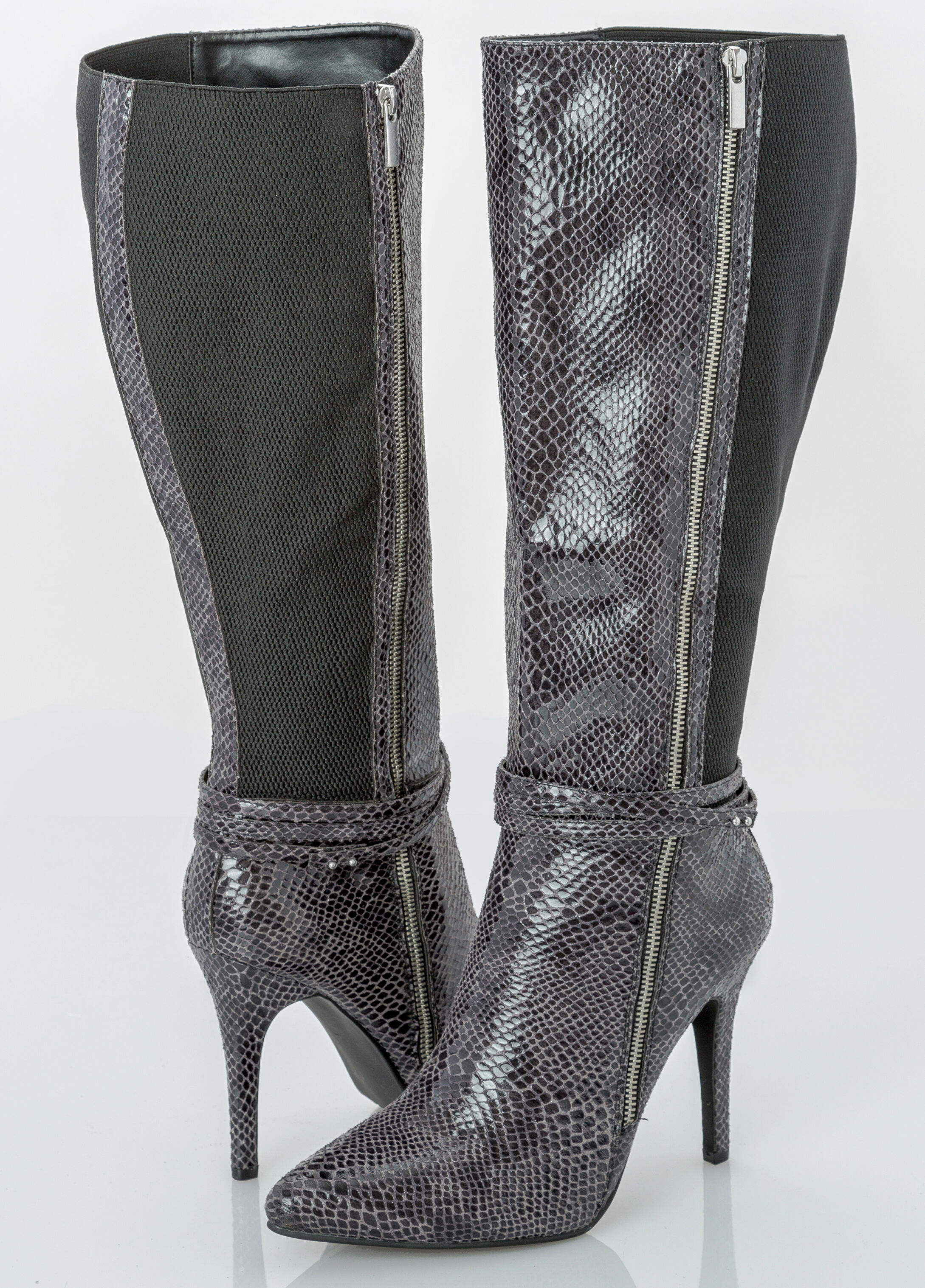 Sexy Side Zip Tall Boot Wide Width Boots Ashley Stewart