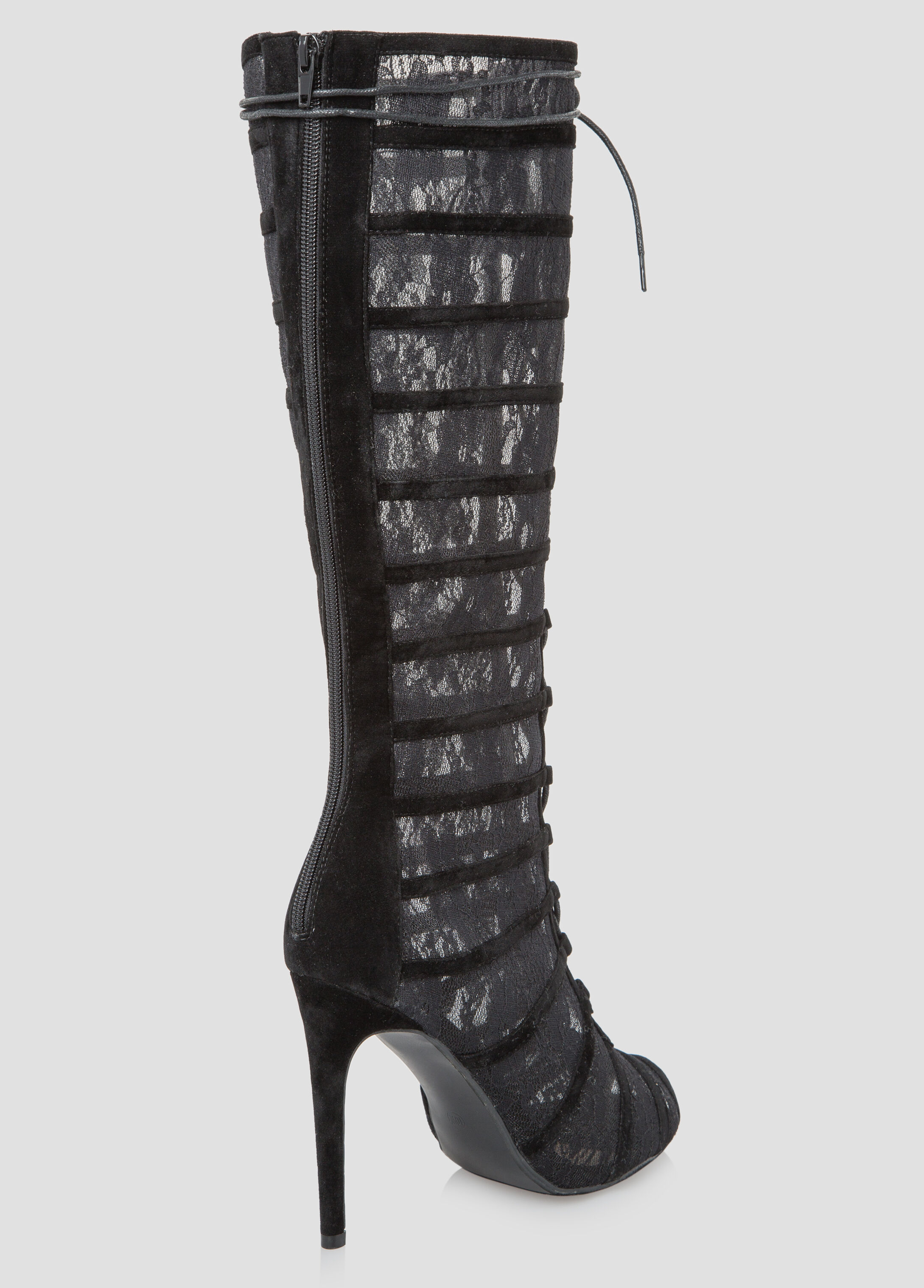 lace high heel boots-plus size shoes-ashley stewart-068-victoria