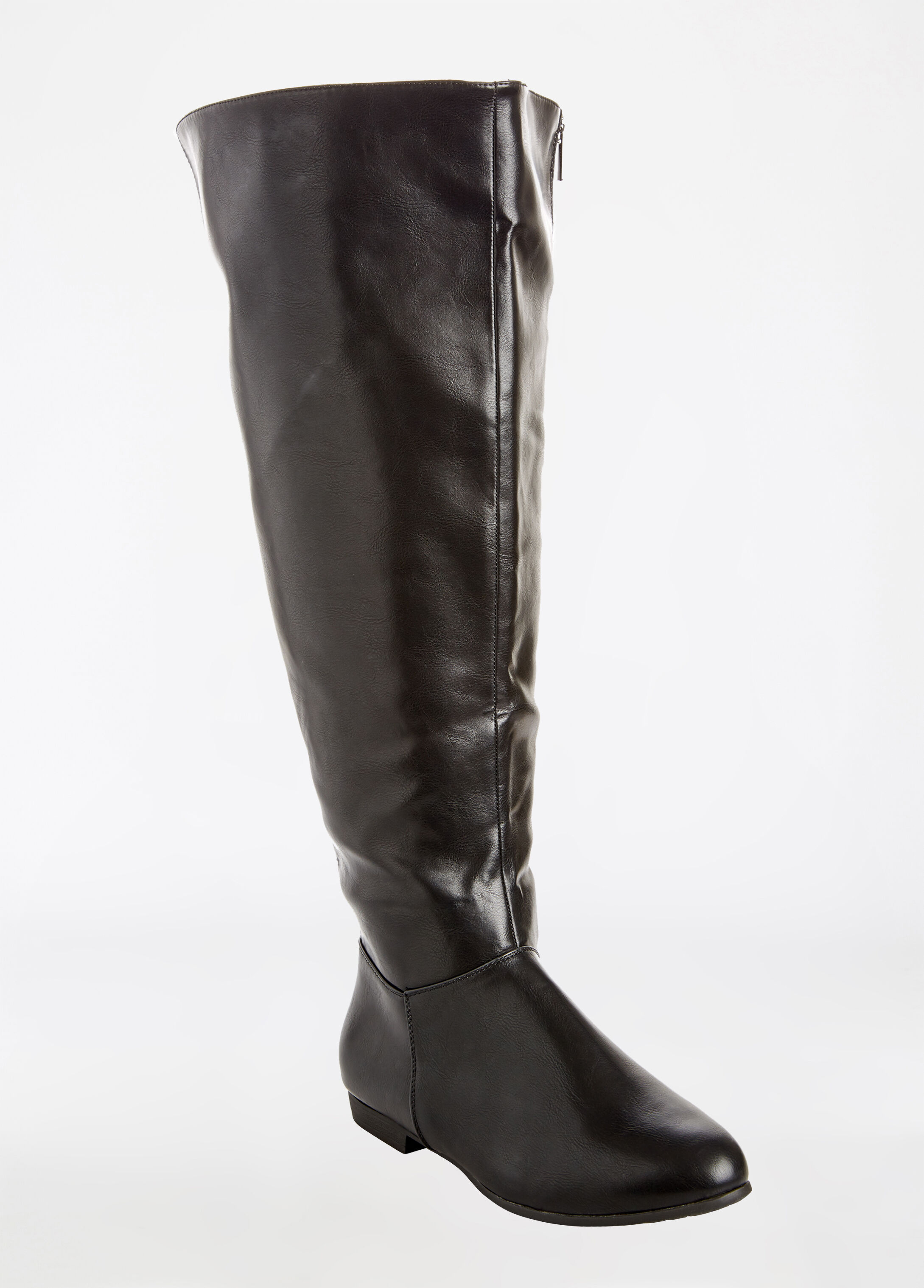 Over The Knee Flat Boot - Extra Wide Width