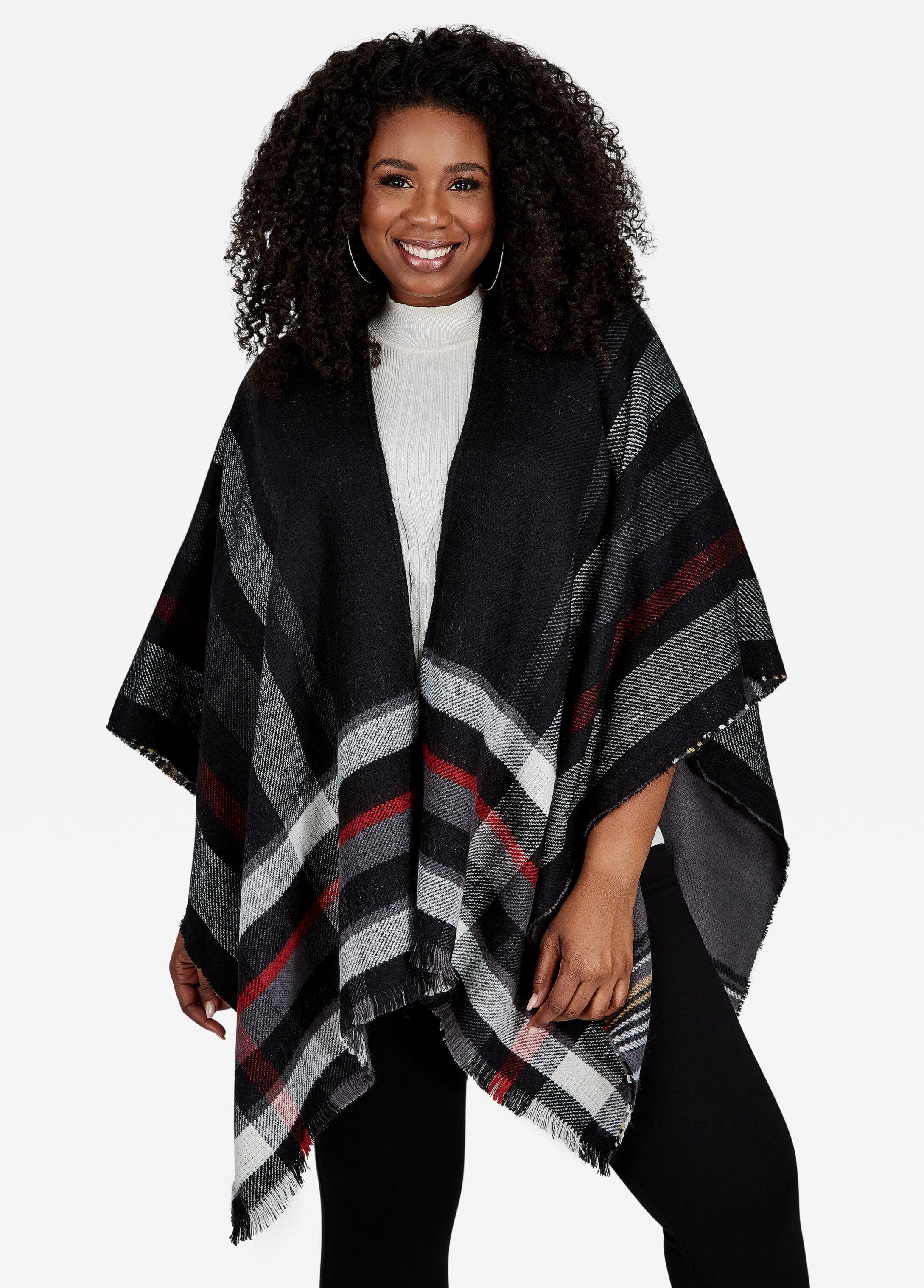 Trendy Scarves Wraps Kimono Amp Ruanas Ashley Stewart