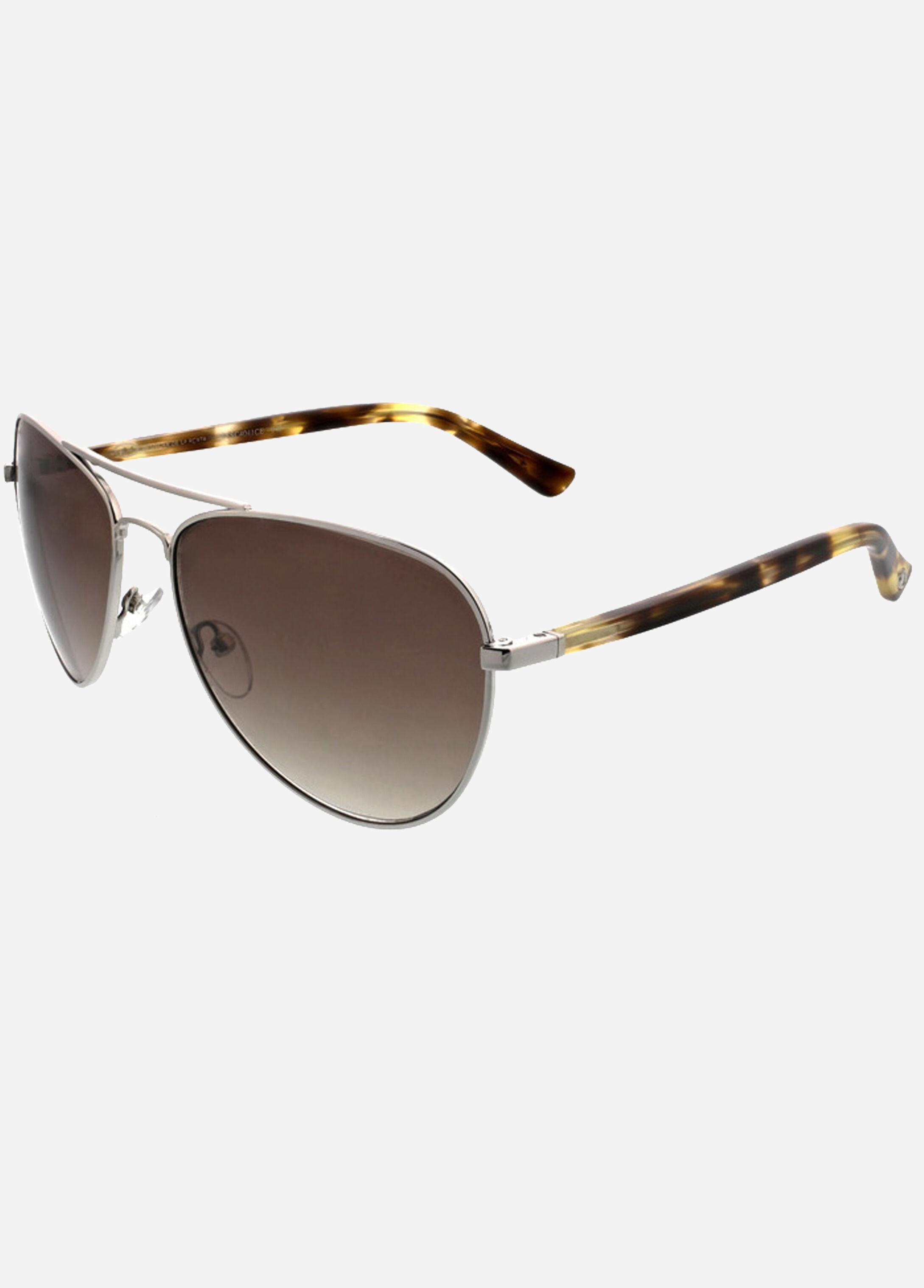 O BY OSCAR DE LA RENTA Retro Round Sunglasses